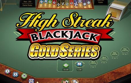 European High Streak Blackjack Gold