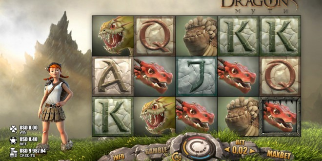 Capture the Beasts to unlock Big Wins in the new Dragon's Myth slot