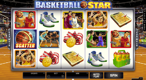 From Tip Off To The Buzzer Microgaming's Basketball Star Slot Delivers On All Counts