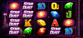 Enjoy the Galaxy at Your Fingertips from 0.40 per Spin with the New StarDust Slot