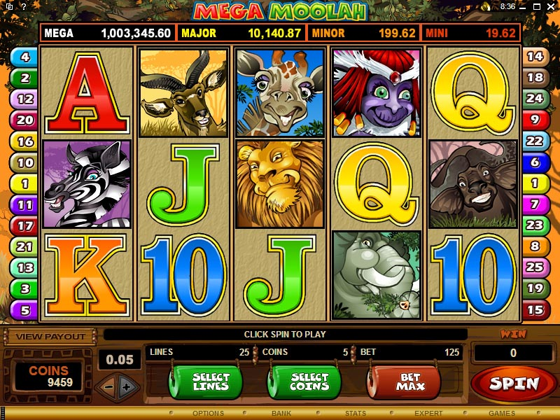 progressive jackpot from grand mondial online casino