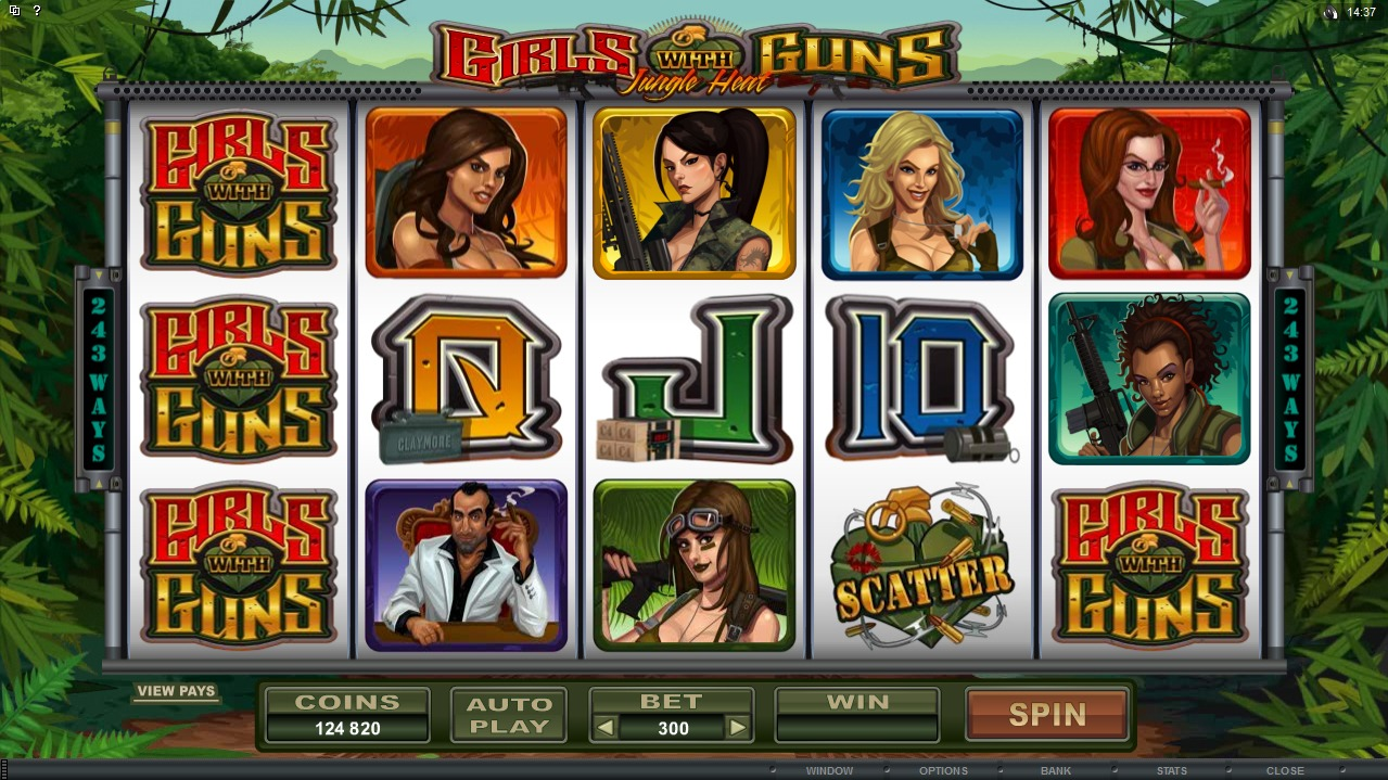 Girls with Guns soon available at your favourite Casino!