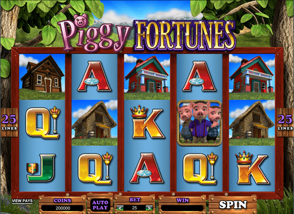 The latest Slot in Online Casinos by Microgaming this April: Piggy Fortunes!