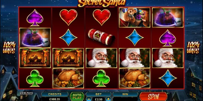 Secret Santa Tiptoes into Microgaming Casinos this December!