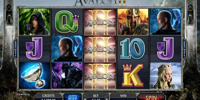 Avalon II – A Quest for Fun, Fortune and the Holy Grail hits Casinos this February!