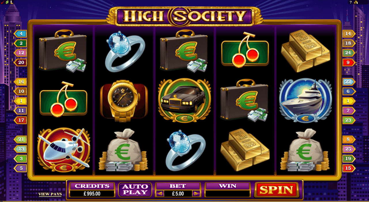 High Society - Rizk Casino