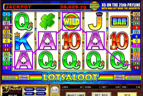 Lotsaloot Progressive Video Slot