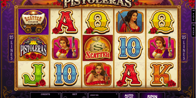 You've Never Seen The West This Wild With Microgaming's New Pistoleras Slot