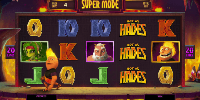 The Flamin' Hot as Hades Slot!