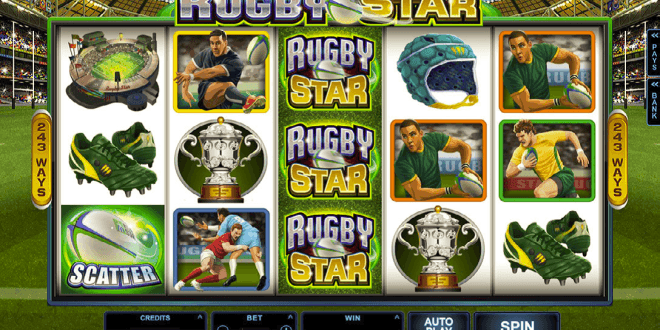 Forget the Scrum at the Casino, Try the new Rugby Star Slot online!