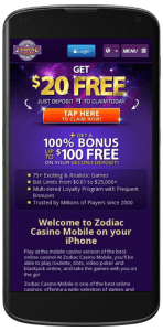 Mobile Zodiac