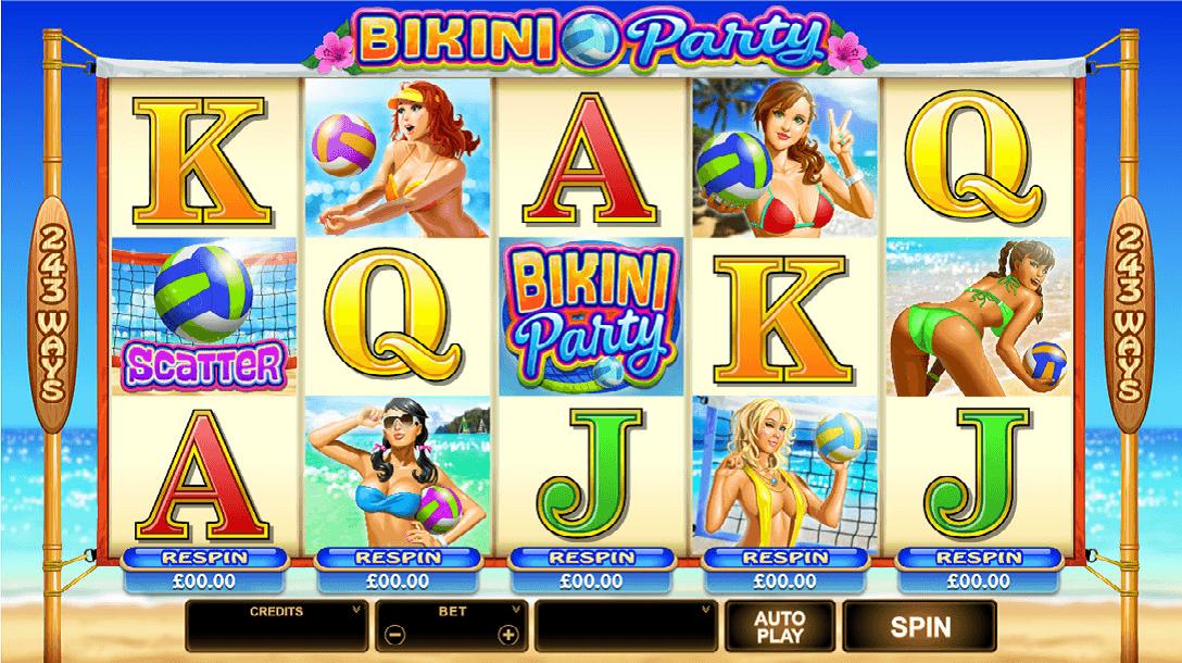 Event software bikini party slot machine online microgaming video video